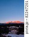 御嶽山・冬(夜明け) 82247201
