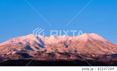 御嶽山・冬(夜明け) 82247204