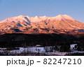 御嶽山・冬(夜明け) 82247210