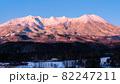 御嶽山・冬(夜明け) 82247211