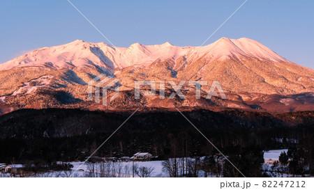 御嶽山・冬(夜明け) 82247212