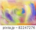 水彩画_明るい色合いの水彩背景 82247276