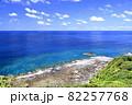 奄美大島の海岸と海と空 大和村 82257768
