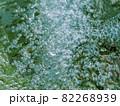 水流の泡のテクスチャー素材 82268939