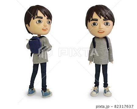 リュックの男の人形 82317637