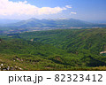 初夏の無意根山から見るニセコ連峰 82323412