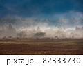 朝霧の中の小田代ヶ原 82333730