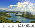 しまなみ海道の瀬戸内海の島々 82346310