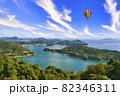 しまなみ海道の瀬戸内海の島々 82346311