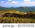 初夏の定山渓天狗岳と周辺の山並み 82355938