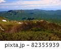 初夏の定山渓天狗岳と周辺の山並み 82355939