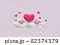 バレンタインデーのイメージ素材 82374379