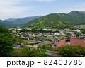 静岡県 川根本町 千頭付近の街並み 82403785