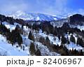 平丸の集落から望む妙高連峰 82406967