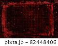 暴力的なイメージの赤いタイルボード 82448406