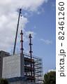 建設中の高層ビル 82461260