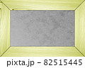黄色い板のフレーム 82515445