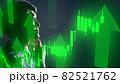 株価の一覧ボードと投資家 82521762