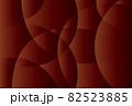 曲線が交差する小豆色のグラデーションテクスチャ 82523885
