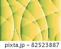 曲面が交差するグリーンのグラデーションテクスチャ 82523887