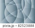 曲面が交差するグレーのグラデーションテクスチャ 82523888