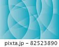 曲面が交差するブルーのグラデーションテクスチャ 82523890