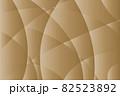 曲面が交差する茶色のグラデーションテクスチャ 82523892