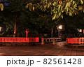 深夜の祇園白川 ② 82561428