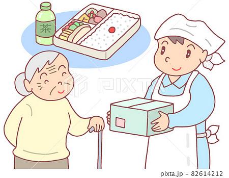介護食・配食サービス活用 82614212