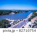 フランス アヴィニヨン ローヌ川 82710754