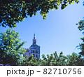 フランス アヴィニヨン ノートルダム教会のマリア像 82710756