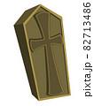 棺 ハロウィン素材のアイコン/イラスト素材 82713486