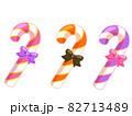 キャンディバー セット ハロウィン素材のアイコン/イラスト素材 82713489