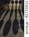 こけしの形をした影 82720812