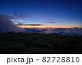 大台ヶ原山 正木峠から見た夜明け前の情景@奈良 82728810