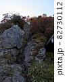 石鎚山(愛媛県)の鎖場 82730112