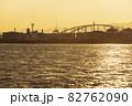 大阪港_夕景 夏 82762090