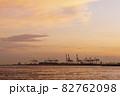 大阪港_夕景 夏 82762098