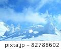 雪 樹氷(長野県志賀高原) 82788602