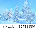雪 樹氷(長野県志賀高原) 82788666
