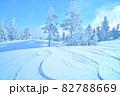 雪 樹氷(長野県志賀高原) 82788669