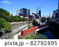 神田川を渡る丸の内線3000系電車 82792895