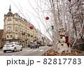 クリスマスのヨーロッパの街並み③ 82817783