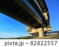 首都高速道路堀切ジャンクションの橋脚 82822557