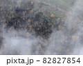 【北海道上富良野町】十勝岳の紅葉と幻想的な朝霧の風景 10月 82827854