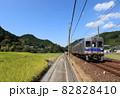 南海高野線 千早口駅付近を走る6500系電車 82828410
