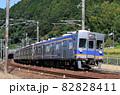 南海高野線 千早口駅付近を走る6500系電車 82828411