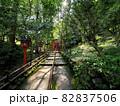 貴船神社 参道 『和風イメージ』(京都) 82837506
