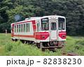 縄文小ヶ田駅付近を走る秋田内陸線 AN-8804 82838230