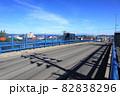 秋田県道24号鷹巣川井堂川線 鷹巣陸橋 82838296